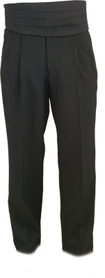 Pleated Pants - Pleated Pants Non Satin Line