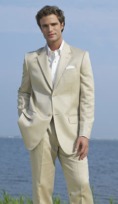 Single Breasted - Destination Apparel - 2 Button Khaki Notch Destination Suit <br> For Purchase