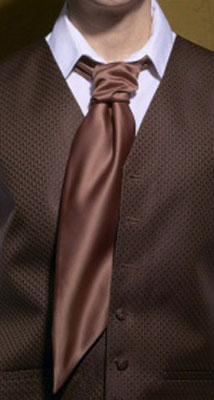 Coffee - Satin Tie