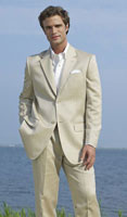 2 Button Khaki Notch Destination Suit <br> For Purchase