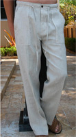 Natural Colour Linen Pants